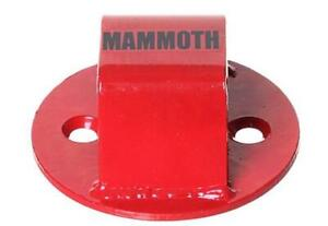 Bike It Motorbike Motorcycle Security Junior Bolt In Mammoth Ground Chain Anchor