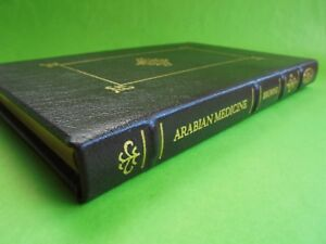 ARABIAN MEDICINE EDWARD BROWNE LEATHER BOUND 1st ED 1921 FACSIMILE