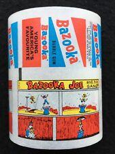 A&BC Vintage Bazooka Joe Bubble Gum Wax Wrappers Factory Uncut Comic Strip - FCC