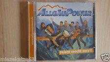 CD AllgäuPower Feiern macht sexy