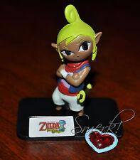 The Legend of Zelda Phantom Hourglass Tetra Figure Tomy Gacha Nintendo Windwaker