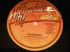 """Starpoint: I Just Wanna Dance WIth You 12"""" - Modern Soul Boogie"""