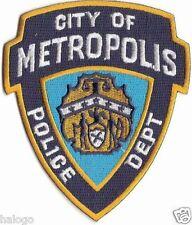 SMALLVILLE - CITY OF METROPOLIS POLICE PATCH - SMV05