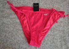 Hollister Daley Ranch Swim Bottom Dark Pink Large Womens NWT