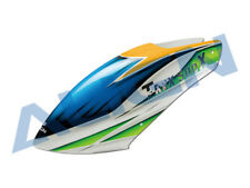 Align T-Rex 500x painted canopy (Blue/Green/Yellow)