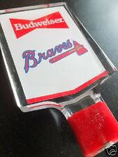 "*Rare* ""ATLANTA BRAVES"" BEER TAP KNOB/HANDLE! Budweiser-Bud-Baseball-Unused"