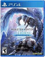 Monster Hunter World: Iceborne Master Edition - PlayStation 4 PS4 Game Sealed