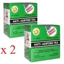 Anti-adiposo tè dimagrante <Veloce Perdita Del Peso> 2 CONFEZIONI 30 bustine