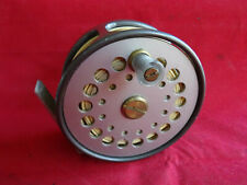 "A GOOD VINTAGE SHARPES OF ABERDEEN THE GORDON 3 1/2""  W (WIDE) TROUT FLY REEL"