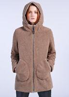 Giacca 3/4 con cappuccio Giubbotto giacca MUSEUM THE ORIGINAL donna mod.LINET