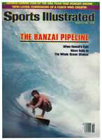 March 8, 1982 The Banzai Pipeline Surfing Sports Illustrated NO LABEL