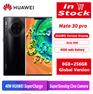 Global Huawei Mate 30 Pro Smartphone 6.53'' OLED 8GB RAM 256GB ROM Android 10.0