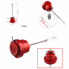 Turbo Adjustable Wastegate Actuator and Rod - Red -Universal Aluminum Alloy