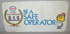 Old Esso Advertising Item - Esso Fleet Safe Operator - Aviation ??.