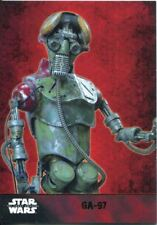 Star Wars Force Awakens S1 Gold Parallel Base Card #30 GA-97