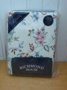 Brand New Cream Thermal Single Bed Sheet Set Richmond House