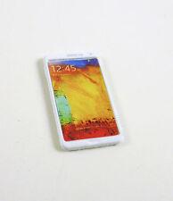 Dollhouse MINIATURE Modern Cell Phone, White, G7250