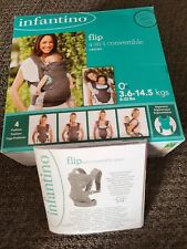 Infantino Flip 4in1 Convertible Baby Carrier. VGUC box and instructions