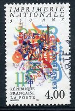 STAMP / TIMBRE FRANCE OBLITERE N° 2691  IMPRIMERIE NATIONALE 350 ANS