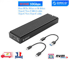Boîtier SSD LSDT M.2 NVMe M2PV-C3 Type-C Gen2 USB3.1 10gbps 2230/2242/2260/2280