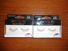 Lot Of 2 Revlon Beyond Natural Professional Eyelashes 91168 Natural Defining Nip