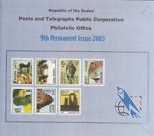 Stamps SUDAN 2003 Definitive REGULAR ISSUE SC-544:557 MNH With OFFICIAL FOLDER
