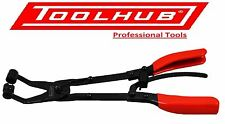 Tool Hub 9704 Extending Reach Hose Clamp Clip Removal Pliers Angled Set 3 Pc