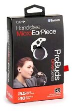 TZUMI Handsfree Micro Earpiece  Bluetooth ProBuds Driver Series    headset 3763B