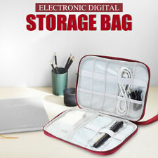 Electronic Accessories Cable Charger Storage Travel Case Organizer Bag Portable