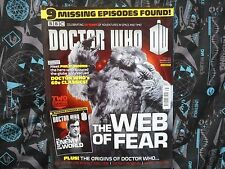 DOCTOR WHO MAGAZINE #466. WEB OF FEAR COVER. DECEMBER 2013.