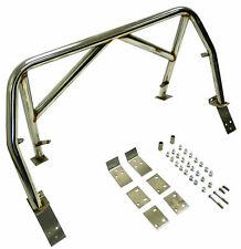 OBX Stainless Steel Double Diagonal Roll Bar For 99-05 Mazda Miata M2 Sport