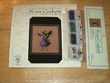 """Nora Corbett """"CLEO"""" Bewitching Pixies Pattern and Embellishment Pack FAIRY Bird"""