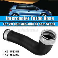 For VW GOLF MK5 1.9TDI 2.0TDI 05-09 INTERCOOLER TURBO BOOST HOSE PIPE 1K0145834L
