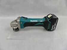 """Makita DGA452 18v LXT 4.5"""" Angle Grinder With One 3.0Ah Battery Used Condition"""
