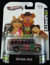 The Muppets,2013, Hot Wheels, Disney, School Bus, Electric, Mayhem, X8916