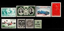 Mint No Gum/MNG Monacan Stamps