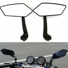 Black Motorcycle Side Rear View Mirror For HARLEY HONDA SUZUKI YAMAHA KAWASAKI