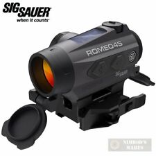 Sig Sauer Romeo4S Red Dot Sight 2 Moa Solar Powered Sor43021 Fast Ship