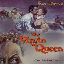 LE SEIGNEUR DE L'AVENTURE (THE VIRGIN QUEEN) MUSIQUE DE FILM - FRANZ WAXMAN (CD)