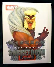 Sabretooth Marvel Comics Art Asylum X-Men Bust Statue Rogue's Gallery New 2004 A