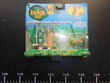♥ a bug's life Under Bug Top Figure Gift Set ♥ Disney Mini Micro Figures rare
