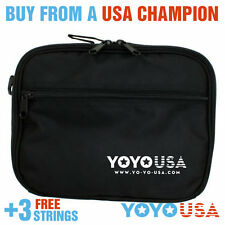 Yo-Yo USA Yo-Yo Bag yoyobag  Carry case  Black + Free Strings