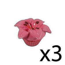 Bálsamo Labial Flor Perfumado Floral Brillo Hidratante Nutritivo Bote Rosa Lirio