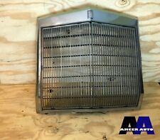 VERY NICE OEM Factory 77-79 Lincoln Mark V Radiator Chrome Grille w Emblem
