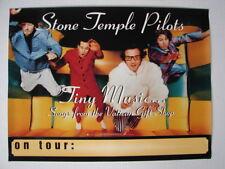 Stone Temple Pilots Tiny Music U.S. Tour Promo Poster Grunge Rock Scott Weiland