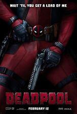 Deadpool Marvel Movie Poster A4 260gsm