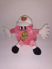 "Cotton Candy Jelly Belly Jelly Beans Plush Bean Bag Clip 7"" Tall"