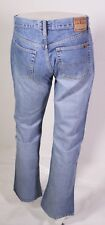 MJ3-21 Big Star Bootcut Herren Jeans W33 L32 blau Mid Rise Button Fly used look