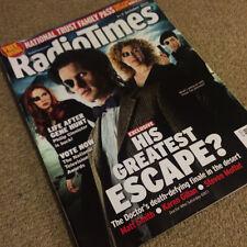 RADIO TIMES Magazine DOCTOR WHO Matt Smith Karen Gillan 2011 Finale Cover