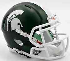 MICHIGAN STATE SPARTANS NCAA Riddell SPEED Authentic MINI Football Helmet MSU